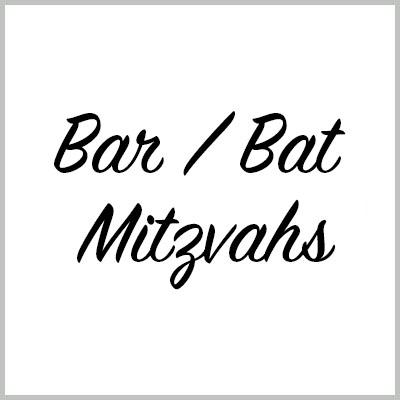 Bar / Bat Mitzvahs